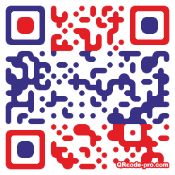 QR code with logo mgM0