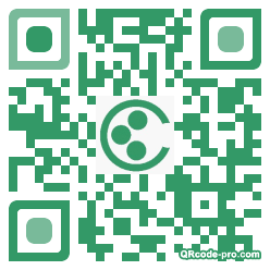QR code with logo mwj0