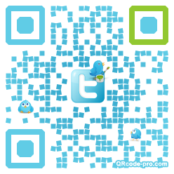 QR code with logo mxh0