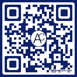QR code with logo n6o0