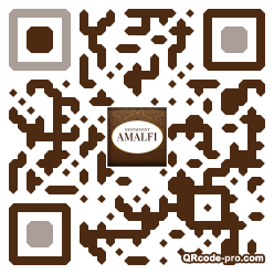 QR code with logo nEY0