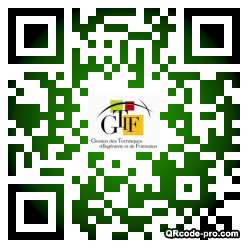 QR code with logo nFG0