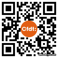 QR code with logo nFJ0