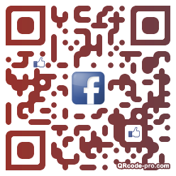 QR code with logo nm10