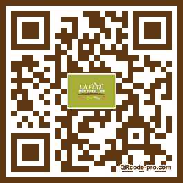 QR code with logo ntB0