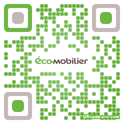 QR code with logo oBO0