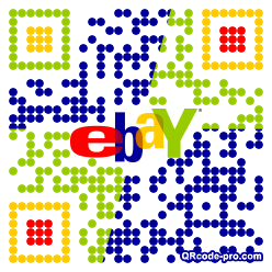 QR code with logo oEa0
