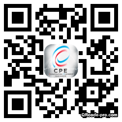 QR code with logo oFC0
