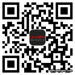 QR code with logo oLE0