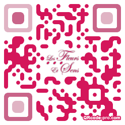 QR code with logo oOx0
