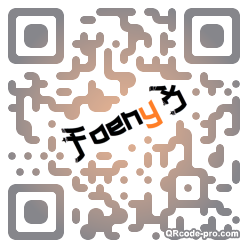 QR code with logo oPV0