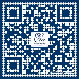 QR code with logo oPg0