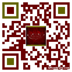 QR code with logo oRP0