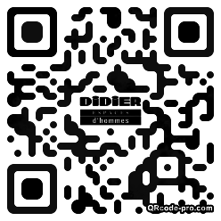 QR code with logo oS50