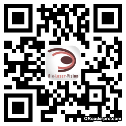 QR code with logo oZF0