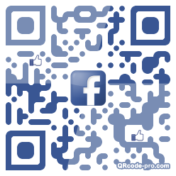 QR code with logo oZT0