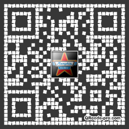 QR code with logo oaa0
