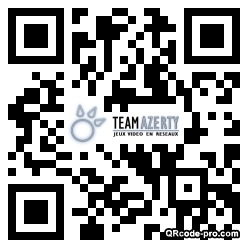 QR code with logo oh40