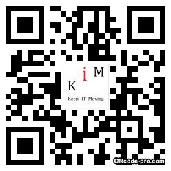 QR code with logo ojT0