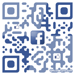 QR code with logo p0r0