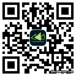 QR code with logo p2Z0