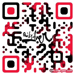 QR code with logo pCE0