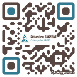 QR code with logo pIc0