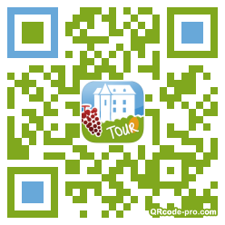 QR code with logo pJY0