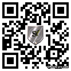 QR code with logo pKx0