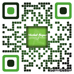 QR code with logo pPB0