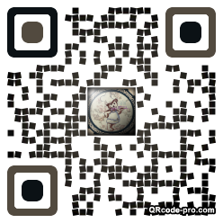 QR code with logo pPO0