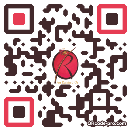 QR code with logo pPu0