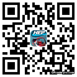 QR code with logo pRF0