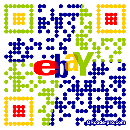 QR code with logo pcS0
