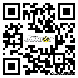 QR code with logo pjf0