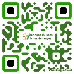 QR code with logo prC0