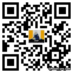 QR code with logo pxL0