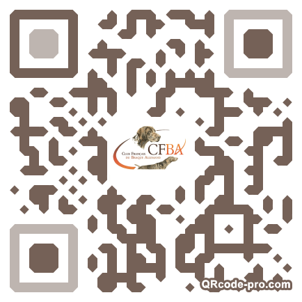 QR code with logo q8t0