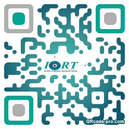 QR code with logo qDH0