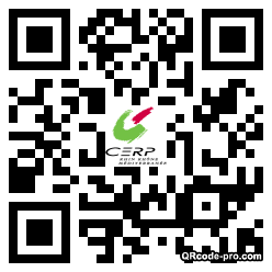 QR code with logo qg90