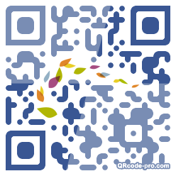QR code with logo qmE0