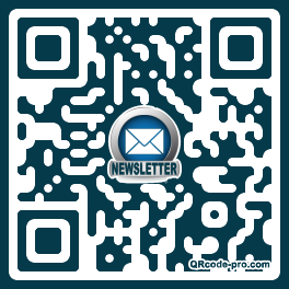 QR code with logo qwV0