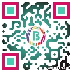 QR code with logo rQM0
