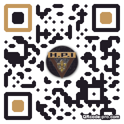 QR code with logo rg40