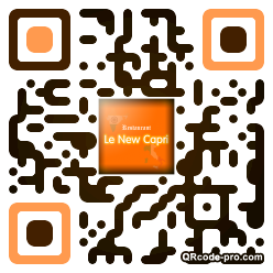 QR code with logo rxV0