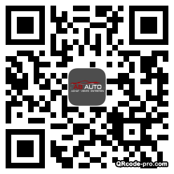 QR code with logo rxy0