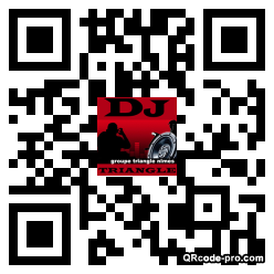 QR code with logo s1d0
