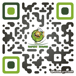 QR code with logo s3R0