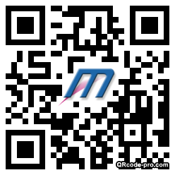 QR code with logo s490