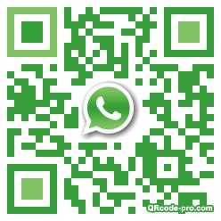 QR code with logo sCJ0